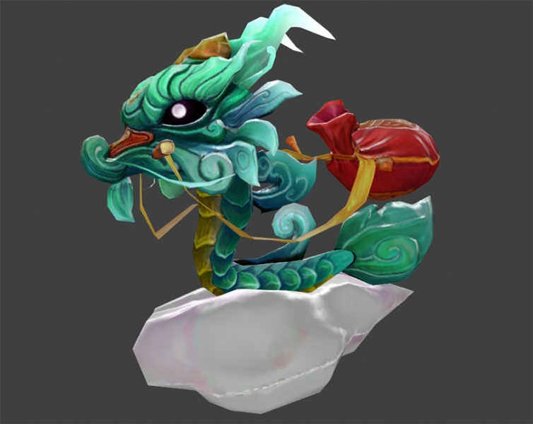 Little Green Jade Dragon скриншот #2