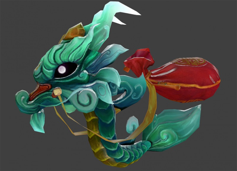 Little Green Jade Dragon скриншот #1