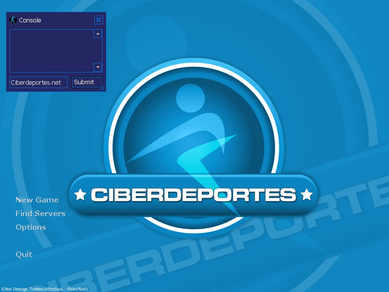 Ciberdeportes.net GUI screenshot