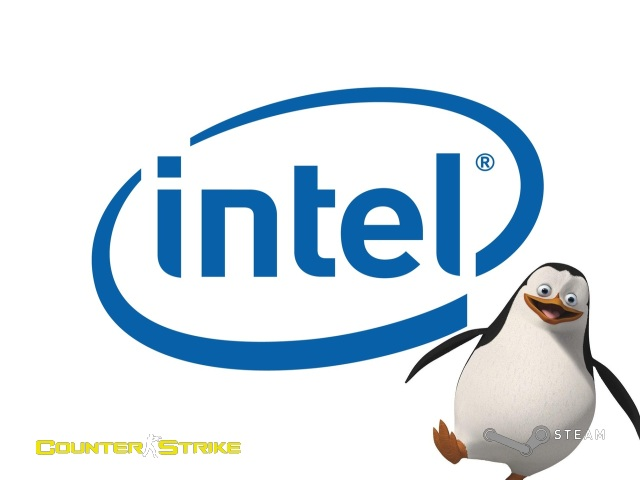 Intel and Penguins of Madagascar GUI 2012 screenshot