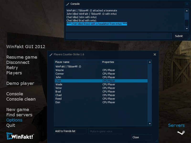 WinFakt GUI 2012 screenshot