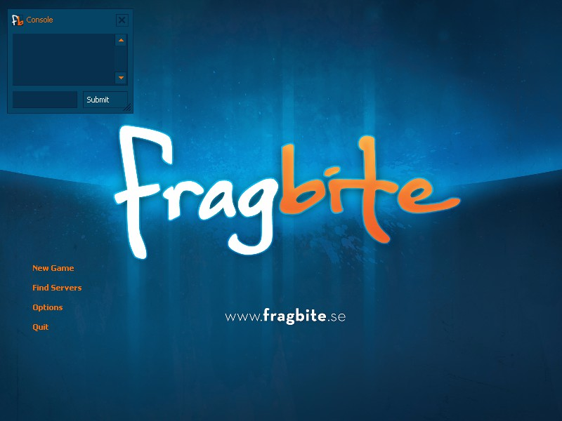 Fragbite.se GUI screenshot