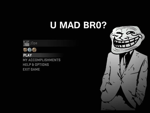 Trollface GUI screenshot