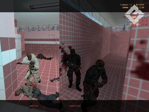 Counter-Strike 1.6 Zombie Assault screen #3