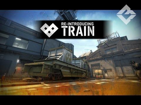 CS:GO обновление 11 декабря 2014: новая CZ75 и карта Train