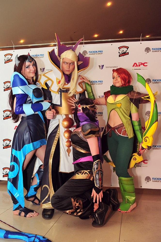 Гале�ея dota 2 cosplay cyberfragscom