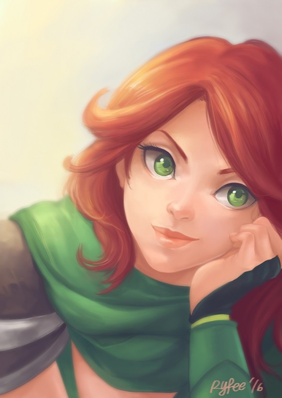 Windranger by Ryfee 744x1052