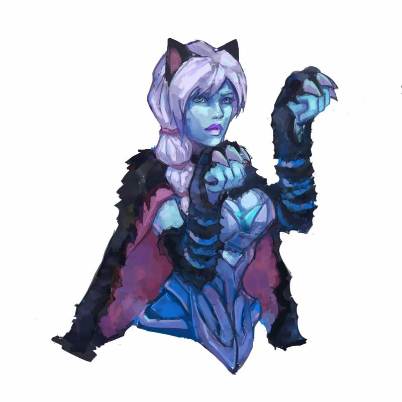Drow Ranger by Swallowchaser 1024x1024