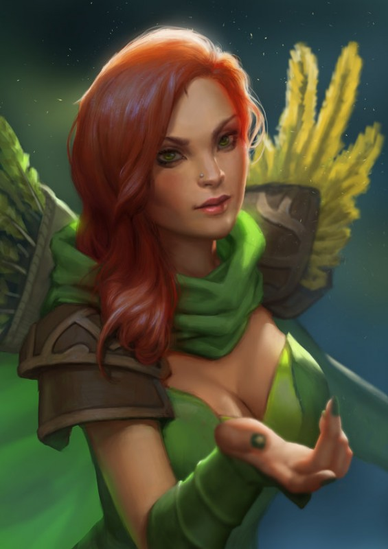 Lyralei the Windranger by Shetrix 600x849