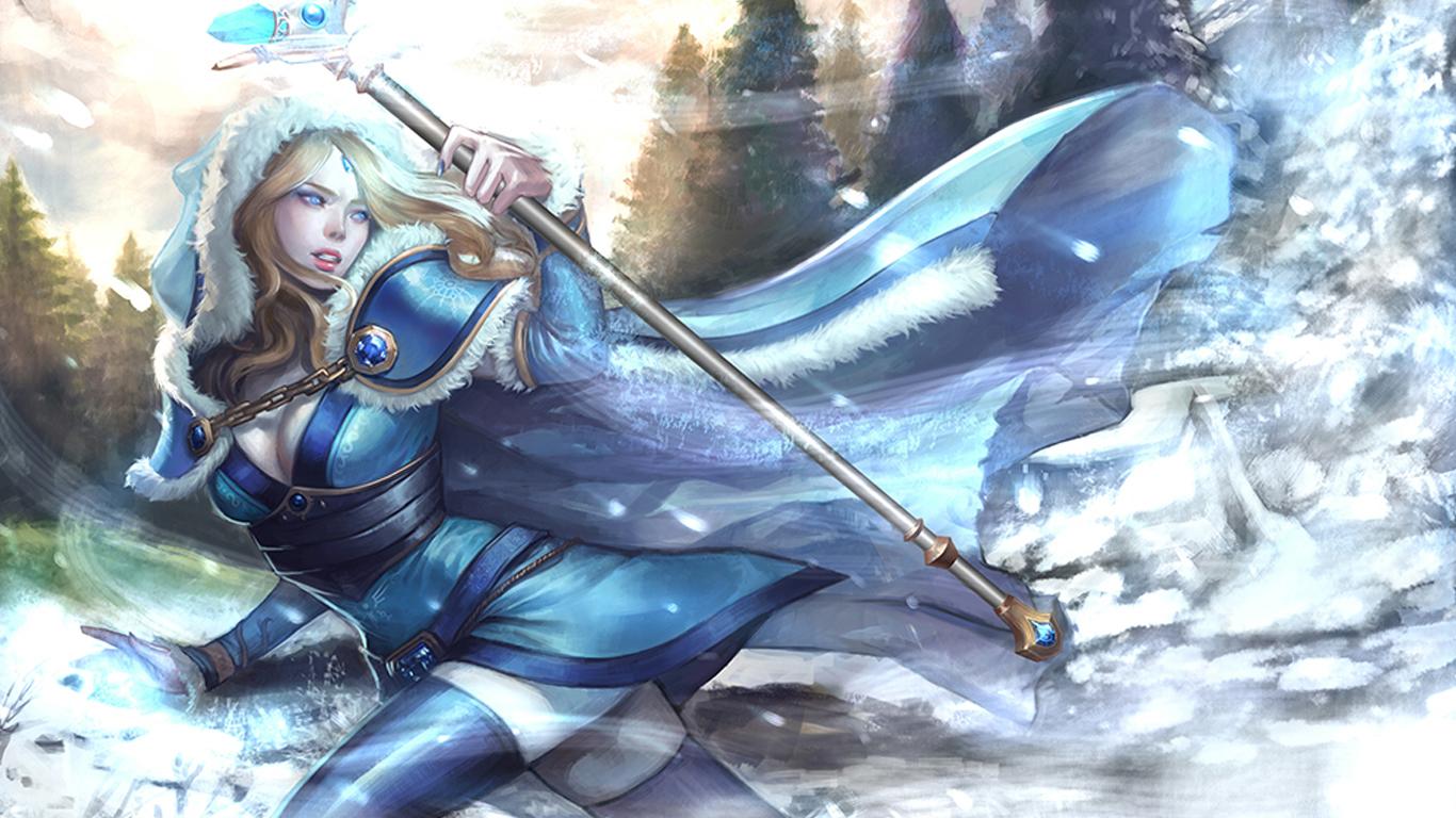 Dota 2 crystal maiden henti xxx scene
